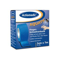 Schnellverband Actiomedic® -Aquatic-, Länge 7 m, selbsthaftend, VPE 10 oder 16 Stk.
