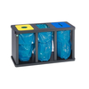 Recyclingstation -Cubo Digna- 180-480 Liter, Stahl ...