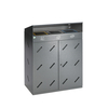 Recyclingstation -Cubo Damian- 300 Liter, Stahl, mit ...