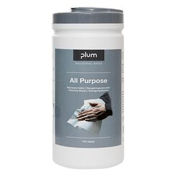 Modellbeispiel: PlumWipes -All Purpose- Reinigungstücher, 100er-Box (Art. 39940)